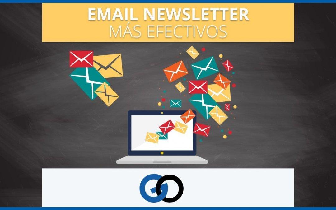 7 tips para que tus email newsletter sean más efectivos
