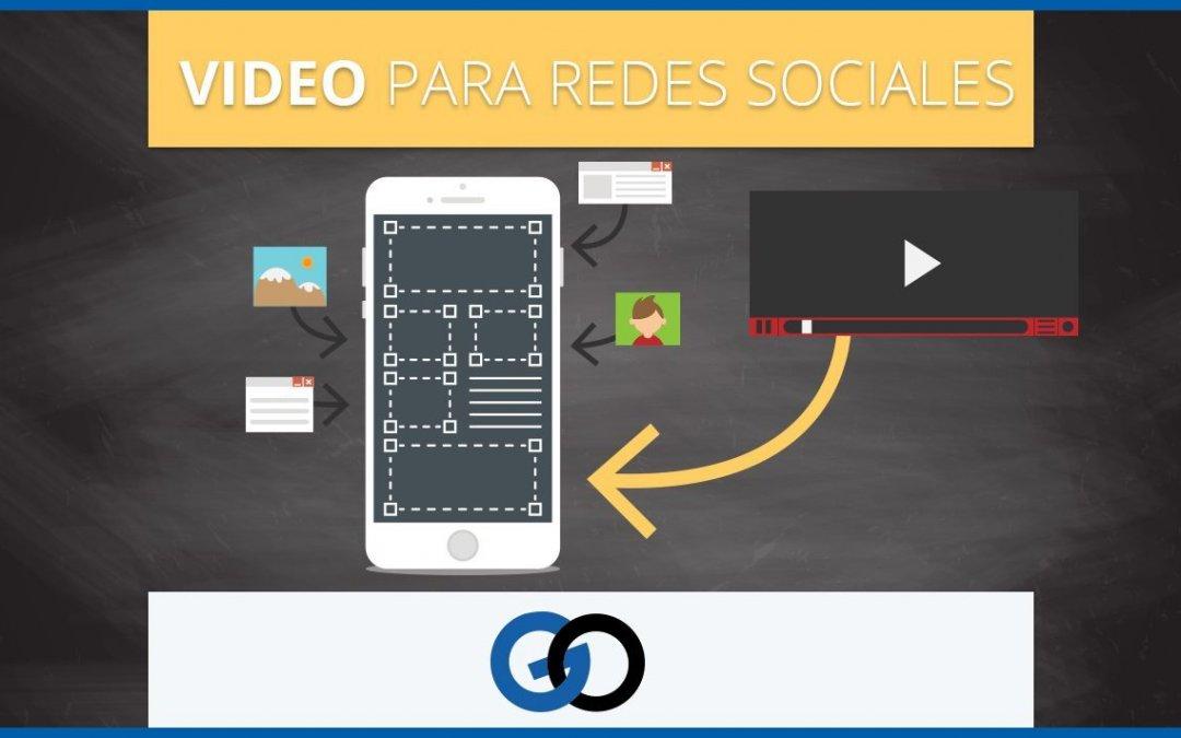 Hagamos un video para Redes Sociales