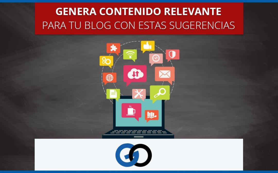 Genera contenido relevante (y tráfico) para tu blog