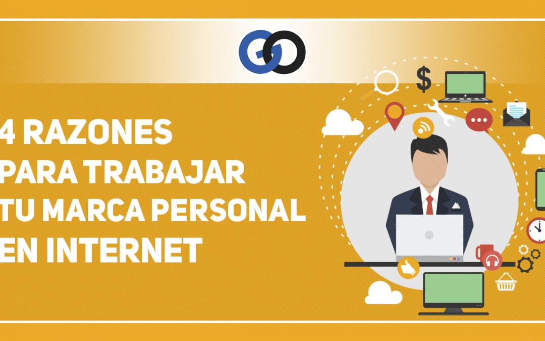 4 Razones para trabajar tu Marca Personal en Internet