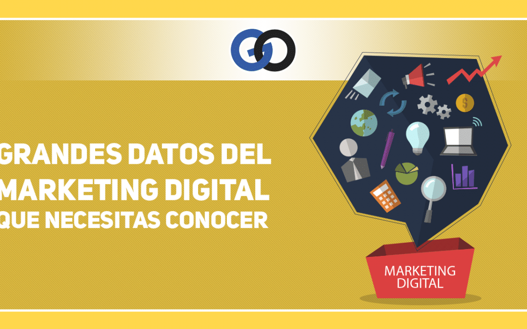 Grandes datos de Marketing Digital que necesitas conocer