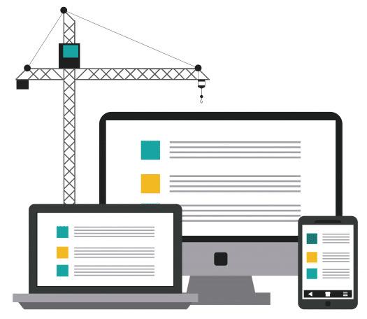 construcción diseño web