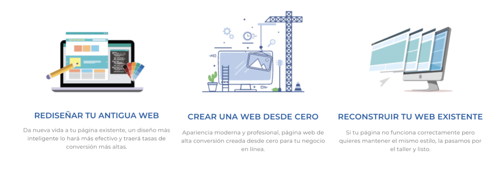 diseño web global online