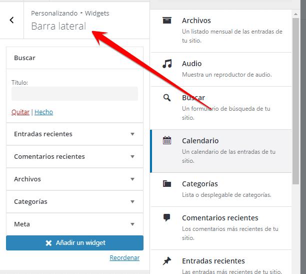 añadir widgets 4